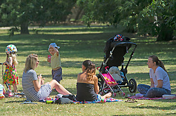 ©Licensed to London News Pictures 22/06/2020<br /> Greenwich, UK. Friends relaxing in the park. A warm sunny day in Greenwich park, Greenwich, London. The UK to enjoy hot heatwave weather this week with temperatures set to bring the hottest day of the year so far. Photo credit: Grant Falvey/LNP