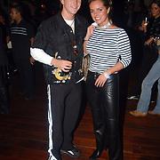 Verjaardag Mayday, Johnny de Mol en Sabine Wendel