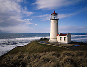 The North Head Lighthouse on the south end of the Long Beach Peninsula. (Benjamin Benschneider / The Seattle Times)