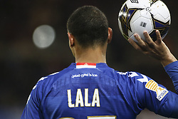 December 13, 2017 - Strasbourg, France - Strasbourg's French defender Kenny Lala during the french League Cup match, Round of 16, between Strasbourg and Paris Saint Germain on December 13, 2017 in Strasbourg, France. (Credit Image: © Elyxandro Cegarra/NurPhoto via ZUMA Press)