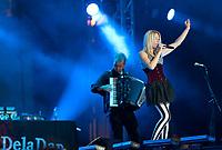 20.07.2012 Bialystok 3 Festiwal Pozytywne Wibracje N/z !DelaDap fot Michal Kosc / AGENCJA WSCHOD