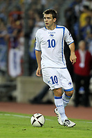 FOOTBALL - UEFA EURO 2012 - QUALIFYING - GROUP D - LUXEMBOURG v BOSNIA - 3/09/2010 - PHOTO ERIC BRETAGNON / DPPI - ZVEZDAN MISIMOVIC (BOS)