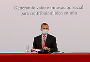 120320 King Felipe VI attends 31st session of the Board of Trustees of the Carolina Foundation