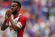 Upset Southampton defender Ryan Bertrand (21) applauds the Southampton fans after the The FA Cup match between Chelsea and Southampton at Wembley Stadium, London, England on 22 April 2018. Picture by Toyin Oshodi.