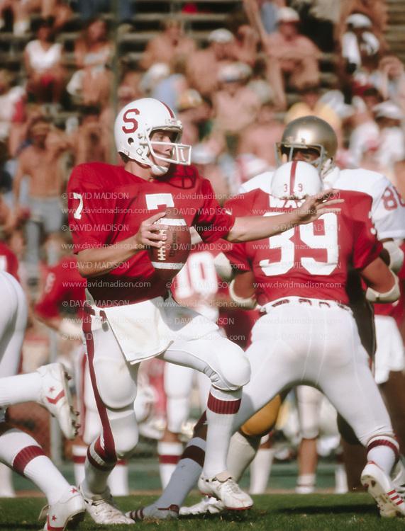 John Elway, Stanford University, Sep 29, 1979 vs Boston College