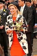 Koninginnedag 2010 . De Koninklijke familie in het zeeuwse  Middelburg. / Queensday 2010. De Royal Family in Middelburg.<br /> <br /> op de foto / on the photo Prinses Maxima