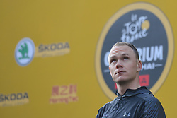 October 28, 2017 - Shanghai, China - Christopher FROOME (GBR) from Team SKY during the 1st TDF Shanghai Criterium 2017 - Media Day..On Saturday, 28 October 2017, in Shanghai, China. (Credit Image: © Artur Widak/NurPhoto via ZUMA Press)