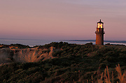 light house on Gay Head Cliffs Martha?s Vineyard