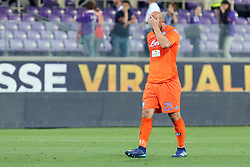 April 29, 2018 - Florence, Florence, Italy - 29th April 2018, Stadio Artemio Franchi, Florence, Italy; Serie A Football, Fiorentina versus Napoli; goalkeeper Pepe Reina of Napoli leaves the pitch dejected after losing their match 3-0 against Fiorentina  Credit: Giampiero Sposito/Pacific Press (Credit Image: © Giampiero Sposito/Pacific Press via ZUMA Wire)