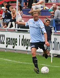 FODBOLD: Christian Pind (Helsingør) under kampen i Kvalifikationsrækken, pulje 1, mellem Elite 3000 Helsingør og Jægersborg Boldklub den 27. august 2006 på Helsingør Stadion. Foto: Claus Birch