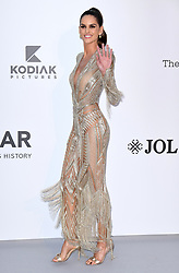 Izabel Goulart attending the 26th amfAR Gala held at Hotel du Cap-Eden-Roc during the 72nd Cannes Film Festival. Picture credit should read: Doug Peters/EMPICS