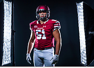 Andrew Jaworksi '21 poses for a portrait, July 30, 2019.<br /> Mark DiOrio / Colgate University