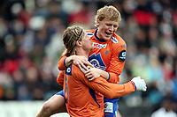Fotball , 13. april 2008 , Tippeligaen , Odd - Aalesund 4-2<br /> <br /> Tor Hogne Aarøy , Aalesund  og  Jonathan Parr , Aalesund