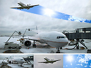 How to Hire a Private Jet to Beat Winter Weather Delays. Wall Street Journal Digital Compositing / Retouch for feature article.