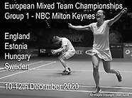 European Mixed Team - Group 1 - Dec 2020