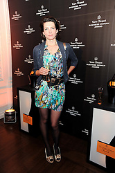 THOMASINA MIERS at the presentation of the Veuve Clicquot Business Woman Award 2010 held at the Institute of Contemporary Arts, 12 Carlton House Terrace, London on 23rd March 2010.  The winner was Laura Tenison - Founder and Managing Director of JoJo Maman Bebe.