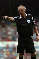 Photo: Tony Oudot. <br /> West Ham United v Manchester City. Barclays Premiership. 11/08/2007. <br /> Referee Peter Walton