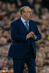 LIVERPOOL, ENGLAND - Monday, September 13, 2021: Everton's manager Rafael Benítez during the FA Premier League match between Everton FC and Burnley FC at Goodison Park. (Pic by David Rawcliffe/Propaganda)