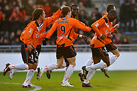 Fotball<br /> Frankrike<br /> Foto: DPPI/Digitalsport<br /> NORWAY ONLY<br /> <br /> FOOTBALL - FRENCH LEAGUE CUP 2009/2010 - 1/4 FINAL - 27/01/2010 - FC LORIENT v OLYMPIQUE LYON<br /> <br /> JOY LORIENT