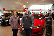 Connolly Motor Group has opened its new state-of-the-art Audi Terminal Showrooms in Ballybrit, Galway. <br /> The finishing touches have been put to the ultra-modern dealership, increasing to 35 full-time jobs, bringing the number of full-time employees at the Connolly Motor Group to over  200 with 35 of those located in Galway.<br /> Work on the new €5 million state-of-the-art dealership began just before Christmas last year and opened on Tuesday October 31st.<br /> The new 'Audi Terminal' is just a stone's throw from Connollys' former Audi Galway dealership at the Briarhill Business Park, close to the Galway Racecourse in Ballybrit. <br /> Finished to the highest spec with the most up-to-date technology, the 23,000 sq. ft. car retail facility is based around Audi's newest design concept. <br /> It is one of the most modern facilities in the country and includes the most up-to-date technology for electric vehicles with multiple power points.<br /> At the Weekend launch was Cathal Greaney Irish Apps and his mum Kathleen <br />  Photo:Andrew Downes