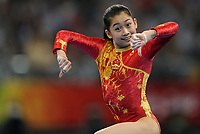 Turn<br /> OL 2008 Beijing<br /> 13.08.2008<br /> Foto: DPPI/Digitalsport<br /> NORWAY ONLY<br /> <br /> China's Yuyuan Jiang competes during the women's team final of the artistic gymnastics at the Beijing 2008 Olympic Games in Beijing on August 13, 2008. China won the gold, while United States won the silver and Romania the bronze<br /> <br /> BILDET INNGÅR IKKE I FASTAVTALER