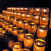 Candles at Notre Dame of Paris