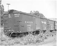 Box car #3382<br /> D&RGW