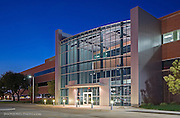 Commercial real estate flex space industrial park used as a data server hub in Oklahoma City