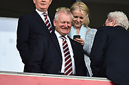 Bristol City owner Steve Lansdown before the EFL Sky Bet Championship match between Bristol City and Hull City at Ashton Gate, Bristol, England on 21 April 2018. Picture by Graham Hunt.