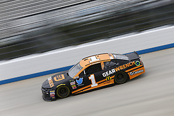 October 5, 2018 - Dover, Delaware, United States of America - Jamie McMurray (1)  takes to the track to practice for the Gander Outdoors 400 at Dover International Speedway in Dover, Delaware. (Credit Image: © Justin R. Noe Asp Inc/ASP via ZUMA Wire)