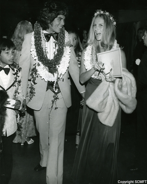 1979 Dayton Kane and his wife at the premiere of Hurricane at Mann's Chinese Theater