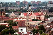 Litwa. Wilno. Panoramy miasta z Góry Trzech Krzyży