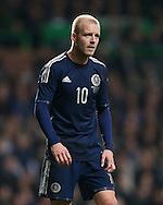 Scotland's Steven Naismith in action<br /> <br /> - International Friendly - Scotland vs England- Celtic Park - Glasgow - Scotland - 18th November 2014  - Picture David Klein/Sportimage