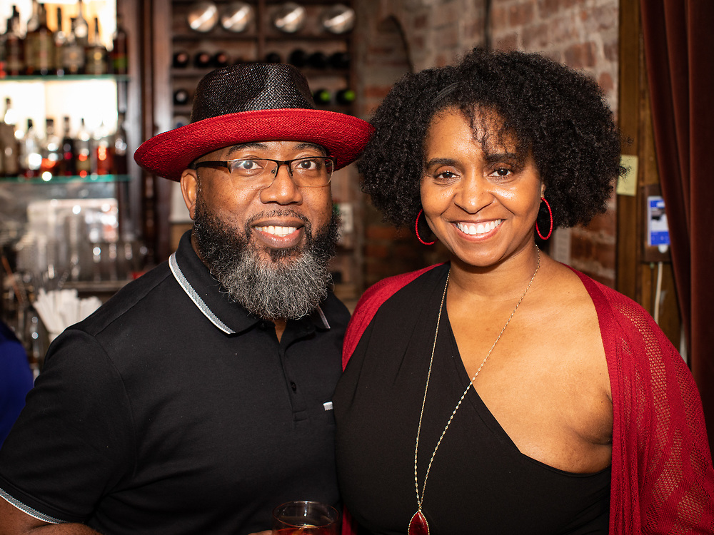 June 24, 2021 - Brooklyn, NY: The relaunch party for Sorel, a liquer created by Jackie Summers, at The Clover Club in Carroll Gardens.