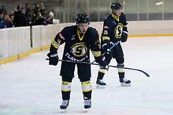 during Inter National League ice hockey match between HK Playboy Slavija and HK ECE Celje, on September 30, 2015, in Ledena Dvorana Zalog, Ljubljana, Slovenia. Photo by Urban Urbanc / Sportida
