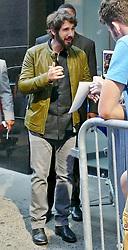 Singer Josh Groban greets fans outside out of GMA. 02 Jul 2018 Pictured: Josh Groban. Photo credit: KAT / MEGA TheMegaAgency.com +1 888 505 6342