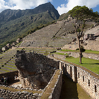 The place leading to the agricultural zone of Machu Picchu.
