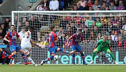 Bournemouth's Jordon Ibe scores to make it 3-2 during the Premier League match at Selhurst Park, London.