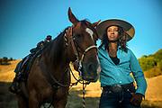 Brianna Noble with her horse, Dapper Dan.