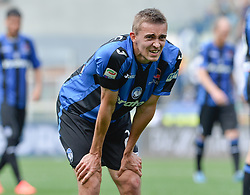 May 6, 2018 - Rome, Italy - Timothy Castagne during the Italian Serie A football match between S.S. Lazio and Atalanta at the Olympic Stadium in Rome, on may 06, 2018. (Credit Image: © Silvia Lore/NurPhoto via ZUMA Press)