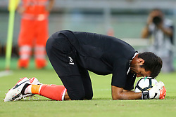 August 13, 2017 - Rome, Italy - Gianluigi Buffon of Juventus  during the Italian Supercup match between Juventus and SS Lazio at Stadio Olimpico on August 13, 2017 in Rome, Italy. (Credit Image: © Matteo Ciambelli/NurPhoto via ZUMA Press)