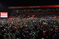 Football - 2018 / 2019 EFL Sky Bet League One - Play-Off Semi-Final, Second Leg: Charlton Athletic (2) vs. Doncaster Rovers (1)<br /> <br /> Charlton Athletic fans invade the pitch after their penalty shoot out victory, at The Valley.<br /> <br /> COLORSPORT/ASHLEY WESTERN
