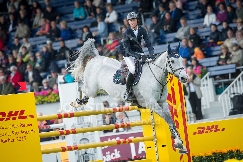 Ben Maher (GBR) & Diablo VII - Sparkassen Youngsters Cup - World Equestrian Festival Aachen 2015 - CHIO Aachen, Germany - 29 May 2015