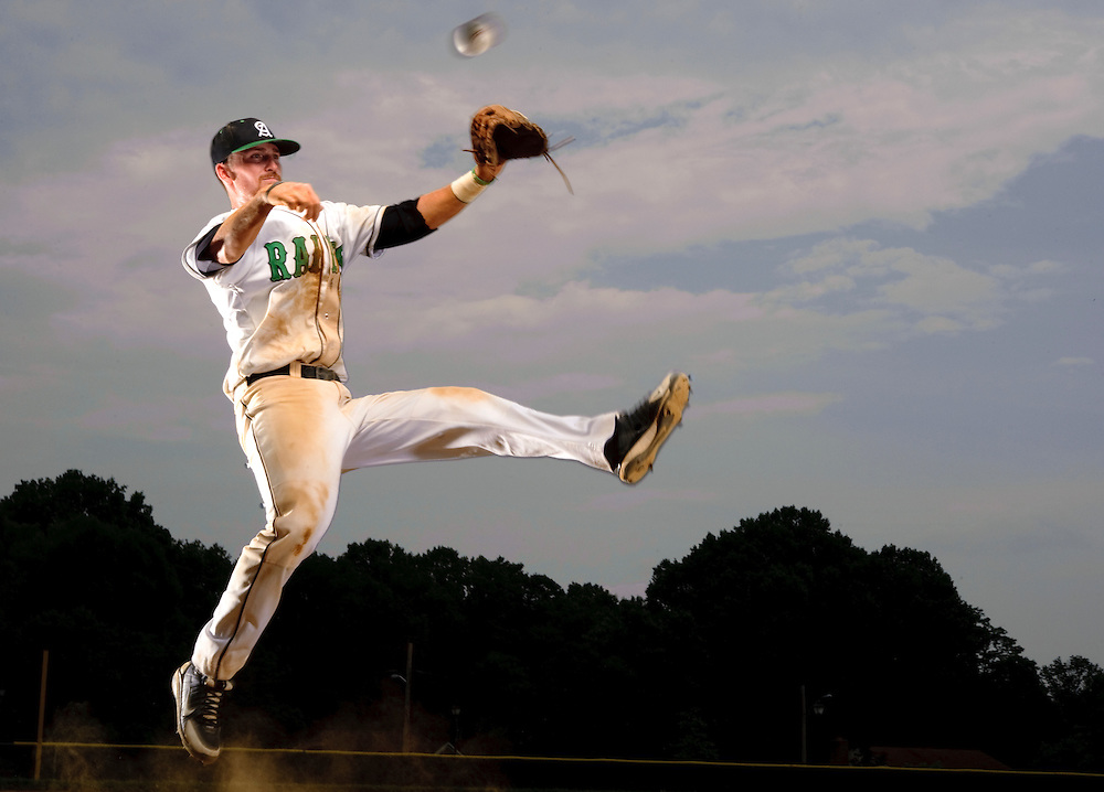 (staff photo by Matt Roth)..Atholton junior shortstop is the baseball player of the year. He is photographed at Atholton High School Saturday, June 5, 2010.