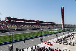 Fontana, CA/USA (Saturday, March 23, 2013) -  Fans enjoy the NASCAR Nationwide Series 2013 Royal Purple 300 practice at the Auto Club Speedway in Fontana, CA   PHOTO © Eduardo E. Silva/SILVEX.PHOTOSHELTER.COM.