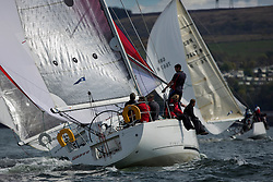 RWYC's Savills Kip Regatta  9-10th May 2015 <br /> Excellent conditions for the opening racing of the Clyde Season<br /> <br /> Class 2's , Wildfire sailed by James Urquhart<br /> <br /> Credit : Marc Turner / PFM