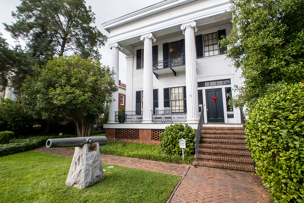 The Canonball House Museum in Macon, Georgia on Monday, July 19, 2021. Copyright 2021 Jason Barnette