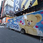 Snuggle Bear in NYC