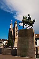 Grossmunster and Hanns Waldmann, Zurich Switzerland