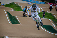 #44 (DEAN Anthony) AUS at Round 2 of the 2020 UCI BMX Supercross World Cup in Shepparton, Australia.